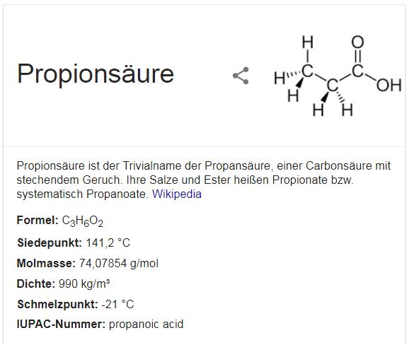 Propionat Kapseln und Tabletten helfen bei MS - Bild Quelle google