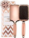 Professionelle Paddle Brush in Rosegold   Haarbürste Ohne Ziepen für...