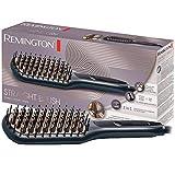 Remington Glättbürste 2in1: Glätteisen & Haarbürste für eine...