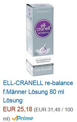 Ell-Cranell Männer Haarausfall Mittel