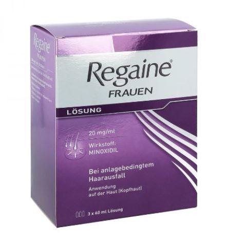 Regaine Frauen Haarausfall mit Minoxidil