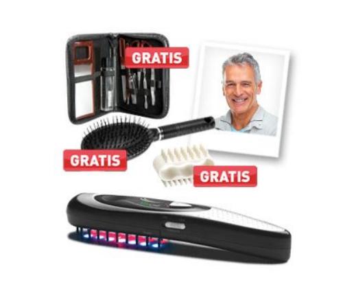 Laserkamm gegen Haarausfall für Männer und Frauen