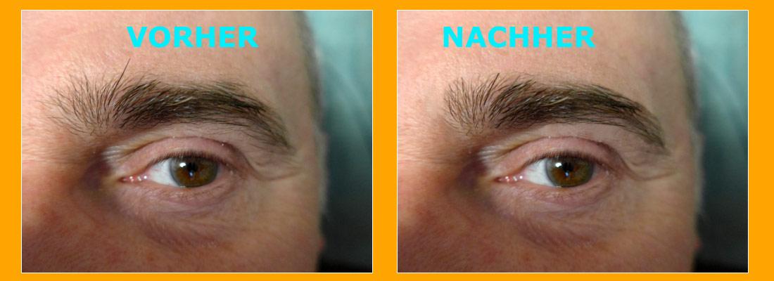 Augenbrauen rasieren aber richtig!