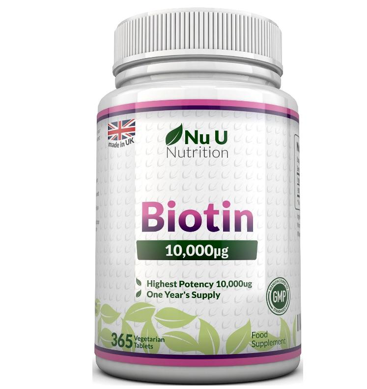 Biotin für Haut und Haare