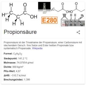 Propionsäure Kapseln und Tabletten helfen bei MS - Bild Quelle google