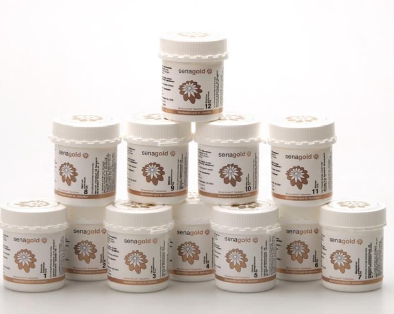 Schüssler Salze unreine Haut behandeln