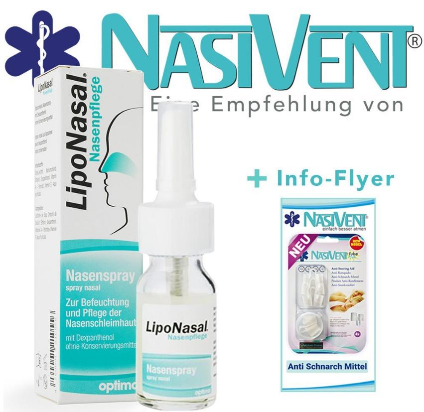 Schnupfen Spray gegen verstopfte Nase